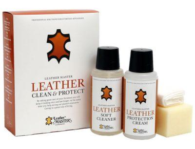 Ledurhreinsir og leduraburdur - leather master